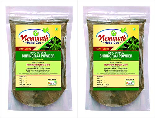 Bhringraj Leaves (Eclipta Alba) Powder (Pack Of 2) Each 100 gm (3.52 OZ)