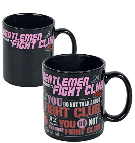 Fight Club SCMG25486 - Taza termoractiva (11 oz / 315 ml)