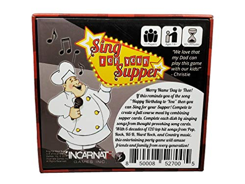 Sing For Your Supper Board Game