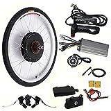 26' 48V 1000W Kit conversione ruota posteriore bicicletta elettrica, motore kit conversione per e-bike
