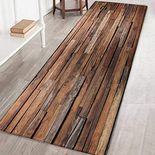 Teppichmatte, rutschfest, groß und gestreift, für Wohnzimmer, Schlafzimmer, Flur, Küche, Textil, M, 60x180cm/2x6ft