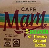 5 lbs of Cafe Mam Organic Coffee • for Enema Therapy • Recommended by Gerson Institute