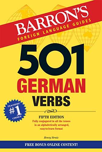 501 German Verbs: Bonus Online Component (Barron's 501 Verbs)