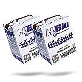 Adam's Polishes x H2Blu DEF Fluid Maximum - Diesel Exhaust Fluid Additive Blue Premium Fluid for Diesel Cars, Trucks, Semi-Trucks, RVs, Industrial, Agricultural, Marine, & More (Two Pack)