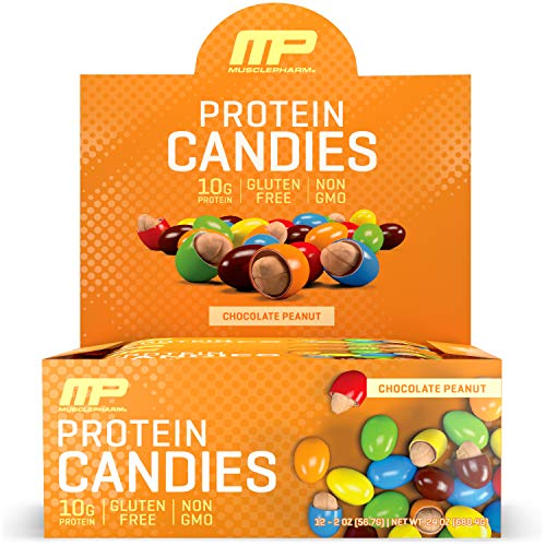 Muscle Pharm Protein Candies Chocolate Peanut, 24 Ounce