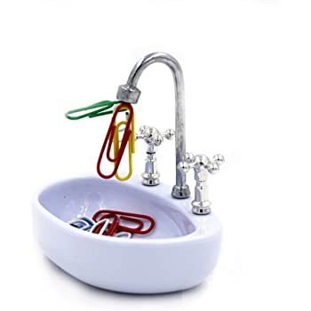 Kitchen-dream Magnetic Kitchen Sink Paper Clip Holder
