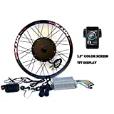 "3.2"" TFT LCD+3000W Hi Speed Electric MTB Bicycle E Bike Hub Motor Conversion"