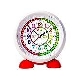 ertt EasyRead Time Teacher ERAC2-COL-PT - Reloj despertador para...