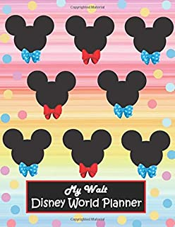 My Walt Disney World Planner: Cruise Travel Vacation Planner Journal World Trip Diary Mickey Mouse