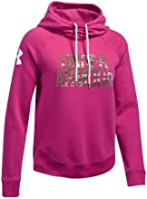 Under Armour UA Favorite Fleece Camo Logo SM Tropic Pink