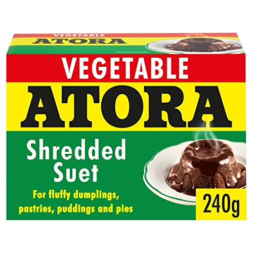 Atora Shredded Vegetable Suet 240g - Pack of 2