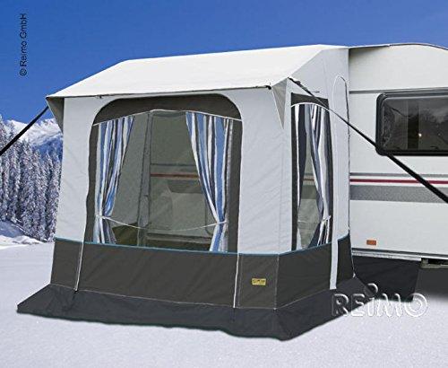 RTENT Wintervorzelt Cortina 2 für Caravans,Stahlgestänge