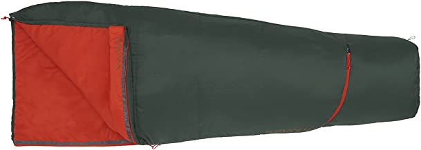 Kelty Rambler 50 Degree Sleeping Bag, Sycamore/Fire Orange, Regular