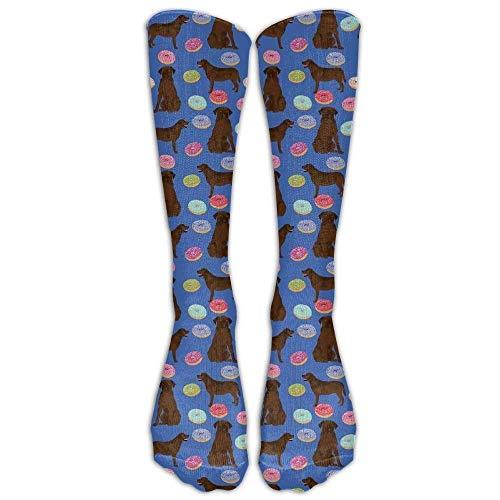 remmber me Männer/Frauen Abrador Retriever Hunde Pet Schokolade Labs Donuts Gelegenheits Mannschaft Top Socken