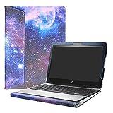 Alapmk Protective Case for 11.6' HP Chromebook 11 G5/HP Chromebook 11 11-vXXX & Lenovo IdeaPad 3 CB 11IGL05/Lenovo Chromebook 3 11 Laptop(Not fit HP Chromebook 11 G8 EE/G7 EE/G6 EE/G5 EE/G4),Galaxy