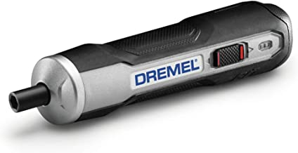 Dremel GO-01 Powered Cordless Electric Screwdriver Set- Phillips, Flat, Hex Head- Precise..