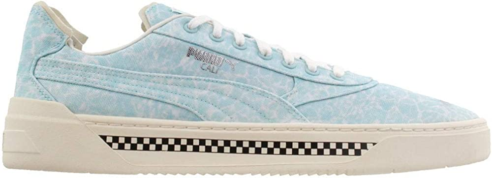 PUMA Mens Cali-0 Pool Lace Up Sneakers Shoes Casual - Blue