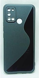غطاء خلفي لهاتف Oppo Realme 7i / Realme C17. اسود