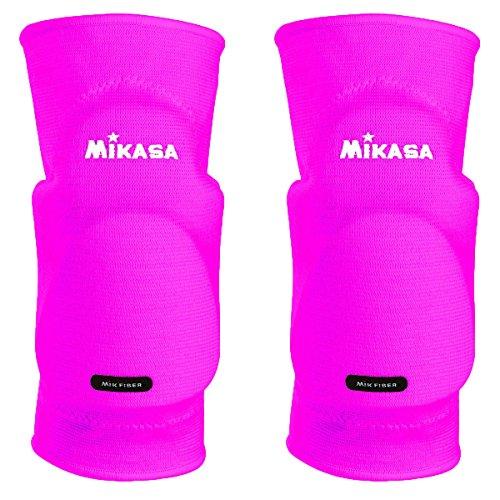 MikasaKobe - Ginocchiere Senior, Unisex, Taglia unica, Rosa fluo