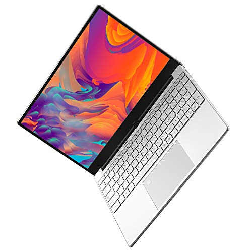 Notebook, PC Portatile 15,6 Pollice, Laptop con Lettore di Impronte Digitali, Tastiera Retroilluminata, Windows10, Custodia in Metallo, Doppi Altoparlanti, Dual Band WiFi 2.4G/5G (8G RAM 512G SSD)
