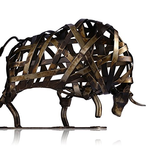 Tooarts Eisenskulpturstierfigur-Tierverzierung Das vieh