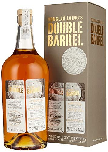 Douglas Laing  Bowmore & Craigellachie DOUBLE BARREL 10 Years Old Blended Malt Scotch Whisky , (1 x 0.7 l)