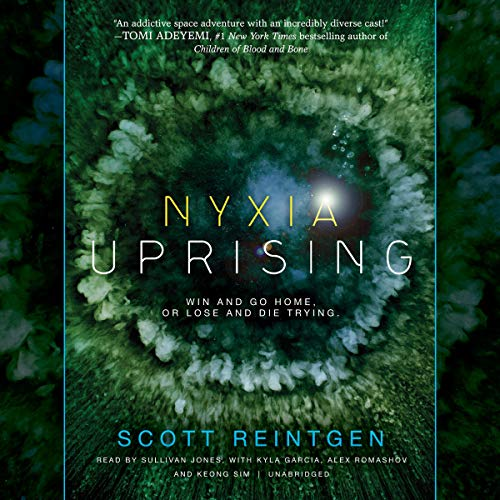 Nyxia Uprising audiobook cover art