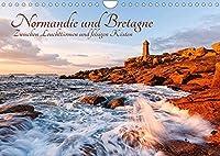 Normandie und Bretagne: Zwischen Leuchttuermen und felsigen Kuesten (Wandkalender 2022 DIN A4 quer): Die raue Schoenheit der franzoesischen Atlantikkueste (Monatskalender, 14 Seiten )