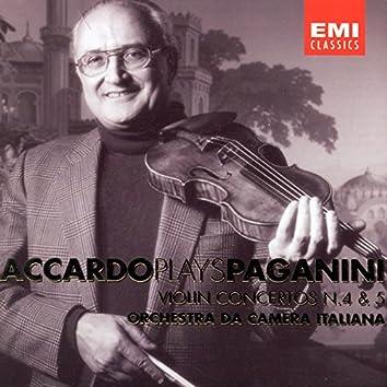 Accardo Plays Paganini - Vol. 3