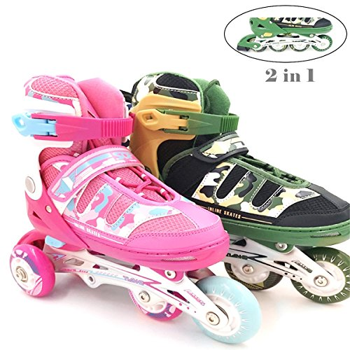 Mpoutik Children's Kid's Adjustable Inline Skates Roller...