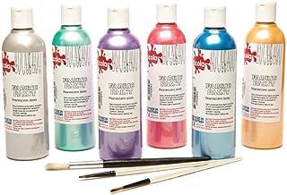 Scola Textile Paint 6 x 150ml (Pearlescent)