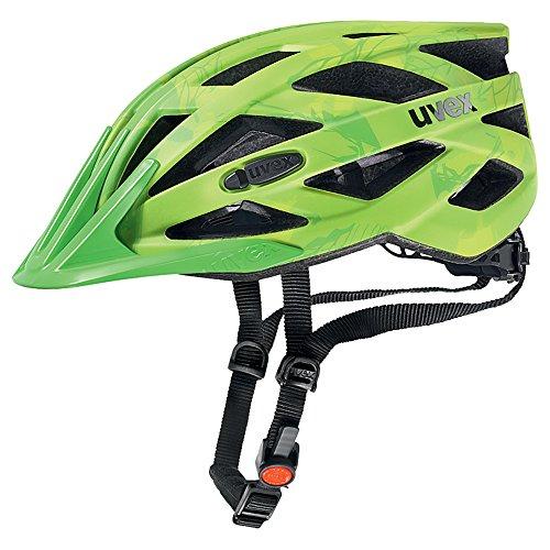 UVEX Erwachsene Fahrradhelm I-VO CC, grün (Grün (Green-Lemon Mat)), 52-57 cm