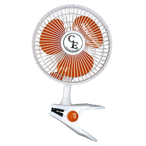 Clipfan, Ventilator 2 stufig zum Anklemmen, Ø ca 20cm Verbrauch 15W Homebox HomeGrow Umluft