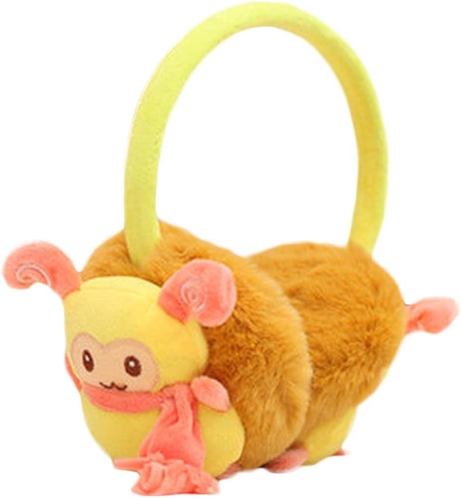 Lovely Sheep Ear Warmer Earmuffs Ear protection Winter decorations(Yellow)