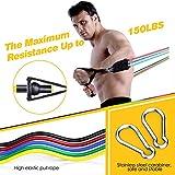 Zoom IMG-1 elastici fitness set egoiggo bande