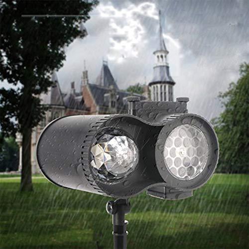 ZHIYI Lampada di Proiezione, Lampada A LED Ad Alta Luminosità A Risparmio Energetico, Sicura E Durevole, Multi-Funzione, Camera da Letto Familiare, Giardino Esterno, Lampada di Proiezione Decorativa