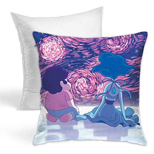 Steven Cool Universe Throw Pillows Fashion Cushion Covers Home Decor Hold Pillow for Living Room Sofa Bedroom 18x18 Inch