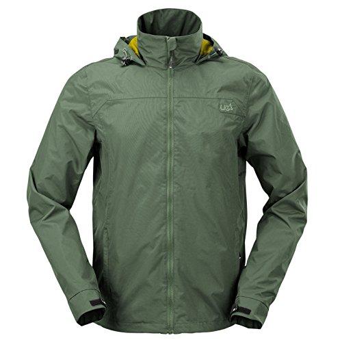 Urban Beach lichtgewicht jas voor heren, waterdicht, technisch, ademend bovenkleding, meerdere kleuren