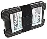 FIDELO Carbon Fiber Minimalist Wallet - Slim Credit Card Holder Money...