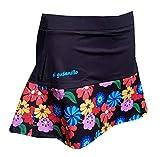 El Gusanillo - Falda de pádel o Tenis Lule Negra (XL)