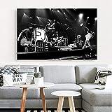 NVRENHUA Pearl Jam Photo Art Poster Wohnkultur Leinwand
