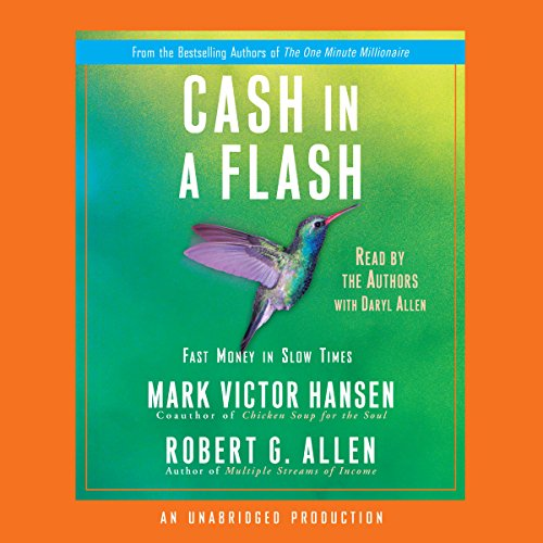 Cash in a Flash audiobook cover art