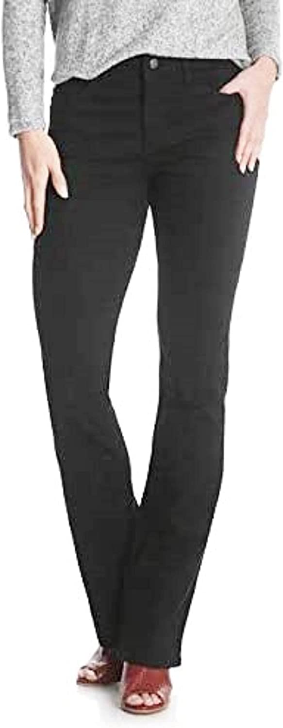 Lee Riders Women's low-pricing Midrise Bootcut Black Jean Fit New York Mall Regular