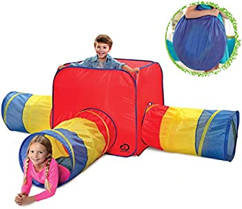 Discovery Kids 3 in 1 Toy Tent with Tunnel