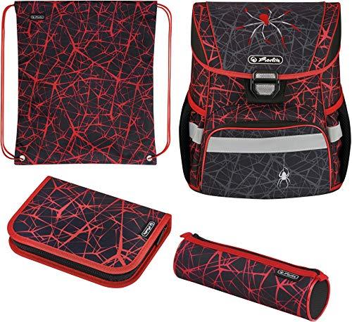 herlitz 50032518 Schulranzen Loop Plus Spider, 1 Stück