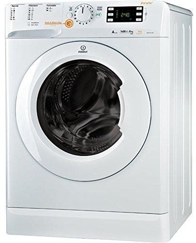 Indesit XWDE 861480X W EU Waschtrockner / 1088 kWh / Inverter-Motor / Waschen nur 50 L