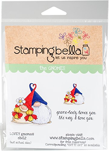 Stamping Bella Lovey Gnomes Cling Stamps