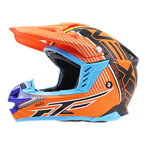 Bradoner Integralhelm Motocrosshelm Road Cross Country Racing Helm Professioneller...