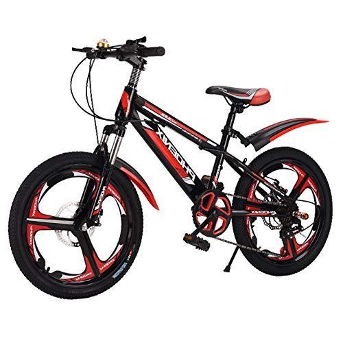 Bicicletas para niños Las Bicicletas de niños de 20 Pulgadas, niños y niñas Ciclismo, adecuados para niños de 7 a 14 años, adaptándose a Varios terrenos: Carretera de Tierra, Carretera de montaña.