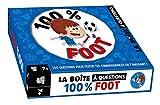 100 % foot - boîte avec cartes et livre